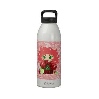 Muñeca de Apple Kokeshi Botallas De Agua