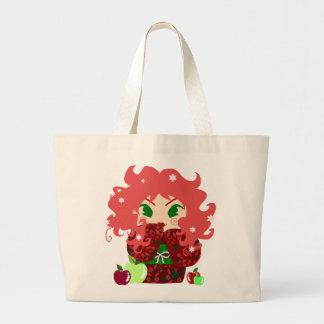 Muñeca de Apple Kokeshi Bolsa