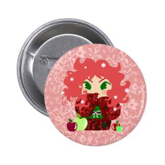 Muñeca de Apple Kokeshi Pins