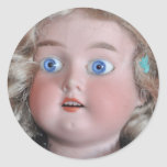 Muñeca de Armand Marsella Pegatina Redonda