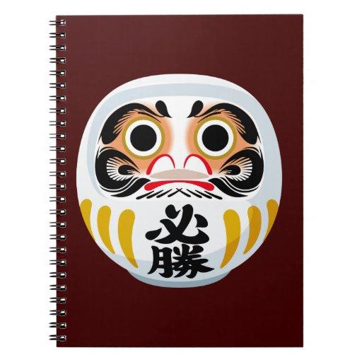 Muñeca de Daruma Note Book