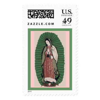 Muñeca de Guadalupe China Franqueo