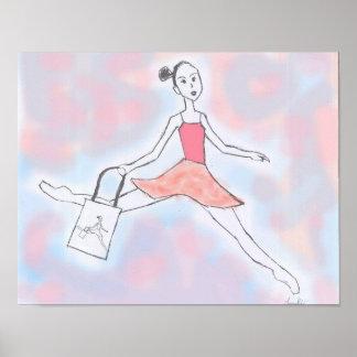 Muñeca de la bailarina póster