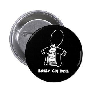 Muñeca de la ginebra de Bobby Pin Redondo De 2 Pulgadas