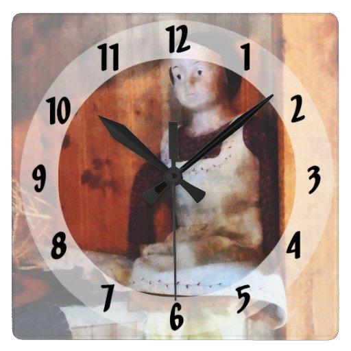 Muñeca de la sopa de mariscos para la venta reloj