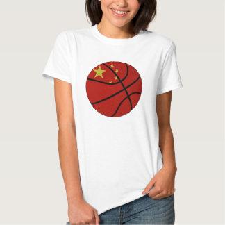 Muñeca de las señoras del baloncesto de China Playera