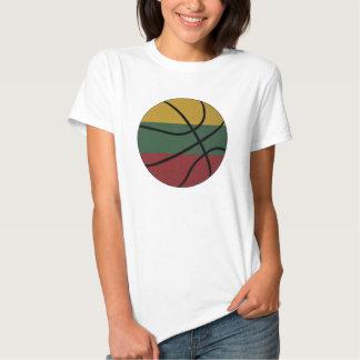 Muñeca de las señoras del baloncesto de Lituania Polera
