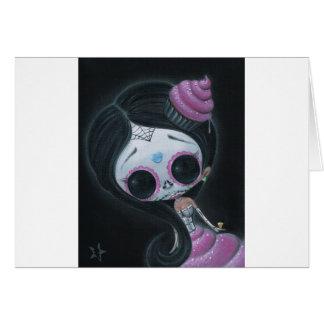 muñeca de los muertos tarjetón