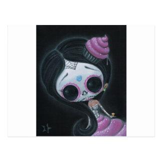 muñeca de los muertos tarjetas postales