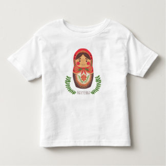 Muñeca de Matryoshka Playera De Bebé