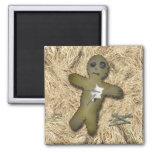 Muñeca de Voo Doo - interactiva (mueva los pernos) Imán De Nevera