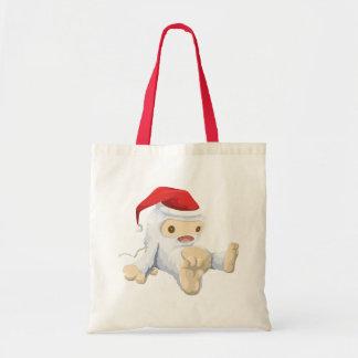 Muñeca de Yeti del navidad que lleva un gorra de Bolsa Tela Barata