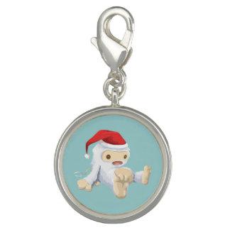 Muñeca de Yeti del navidad que lleva un gorra de Dije
