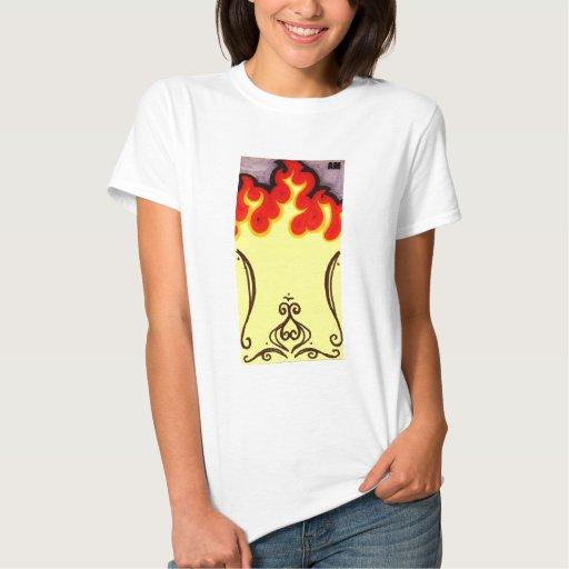 Muñeca del fuego playera