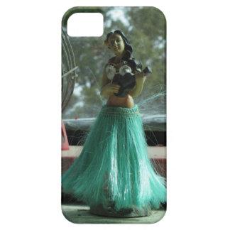Muñeca del Hawaiian del vintage iPhone 5 Case-Mate Cobertura