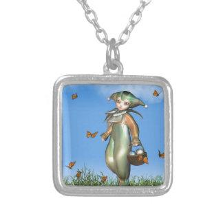 Muñeca del payaso de Pascua Pierrot con las maripo Colgantes Personalizados