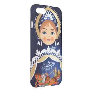Muñeca del ruso de Babushka Matryoshka Funda Para iPhone 7