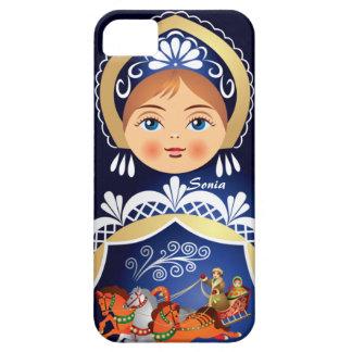 Muñeca del ruso de Babushka Matryoshka Funda Para iPhone SE/5/5s