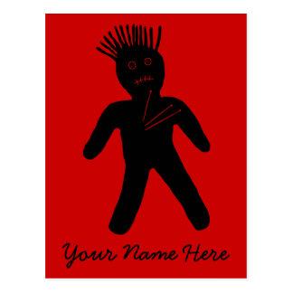Muñeca del vudú tarjetas postales