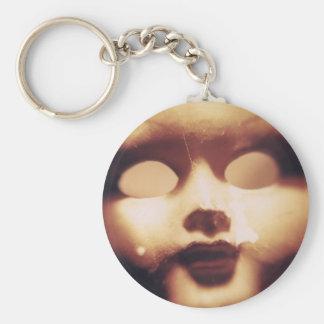 Muñeca espeluznante llaveros personalizados