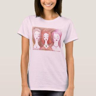 Muñeca Harried T de las señoras del trío Playera