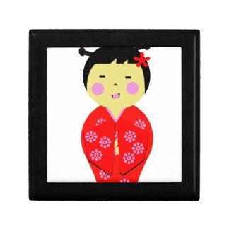 Muñeca japonesa cajas de regalo