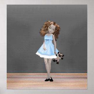 Muñeca japonesa dulce de la junta de rótula de Lol Impresiones