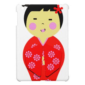 Muñeca japonesa iPad mini carcasas