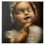- Muñeca - juego venido espeluznante conmigo Azulejos Cerámicos
