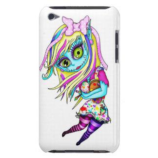 Muñeca linda del zombi iPod touch Case-Mate cárcasas