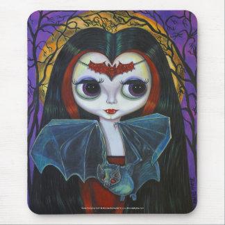 Muñeca linda Mousepad del vampiro Tapetes De Raton