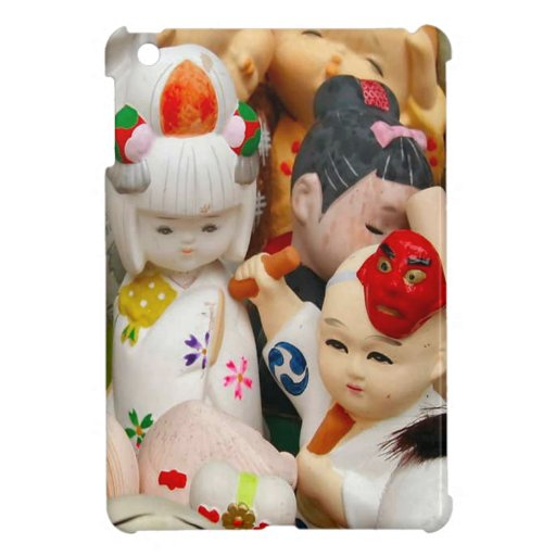 Muñecas chinas de la porcelana iPad mini coberturas