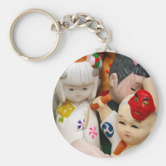 Muñecas chinas de la porcelana llavero personalizado