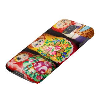 Muñecas coloridas de Matryoshka Carcasas De Galaxy S5