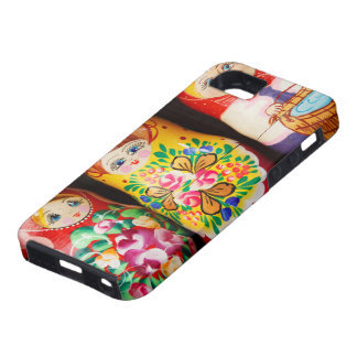 Muñecas coloridas de Matryoshka Funda Para iPhone SE/5/5s