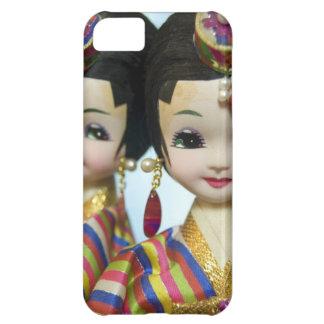 Muñecas coreanas funda para iPhone 5C