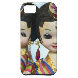 Muñecas coreanas iPhone 5 fundas
