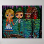 Muñecas de Hansel y de Gretel Blythe Poster