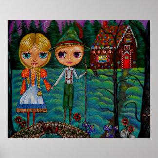 Muñecas de Hansel y de Gretel Blythe Póster