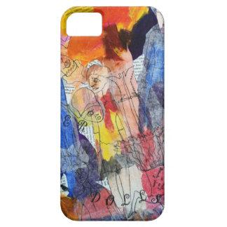 Muñecas de papel una pintura de Connelly iPhone 5 Case-Mate Carcasa