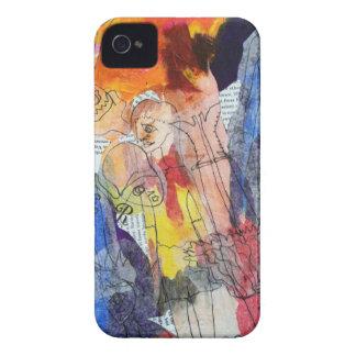 Muñecas de papel una pintura de Connelly Case-Mate iPhone 4 Funda
