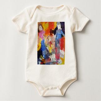Muñecas de papel una pintura de Connelly Trajes De Bebé