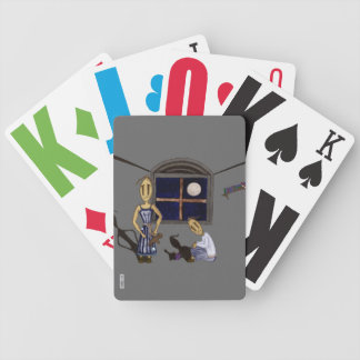 Muñecas de trapo - luz de la luna baraja cartas de poker