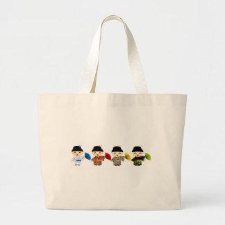 Muñecas del geisha bolsas de mano