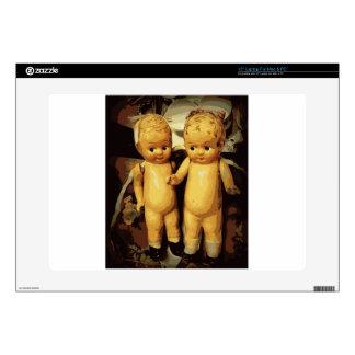 Muñecas del vintage de los gemelos portátil 38,1cm skins