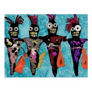 Muñecas del vudú tarjeta postal
