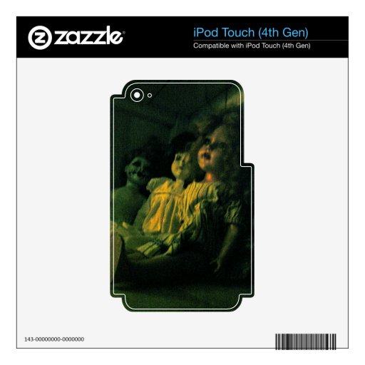 Muñecas espeluznantes iPod touch 4G calcomanías