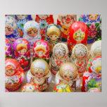 Muñecas jerarquizadas rusas póster