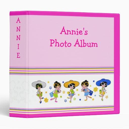"""Muñecas lindas 1,5"""" personalizable del álbum de la"""