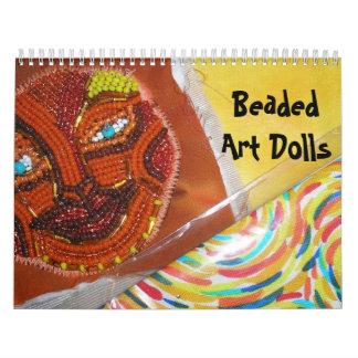 Muñecas moldeadas del arte calendario de pared